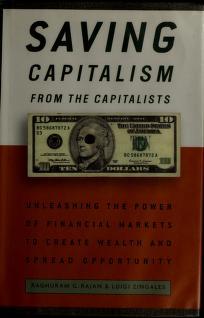 Saving Capitalism PDF Free Download